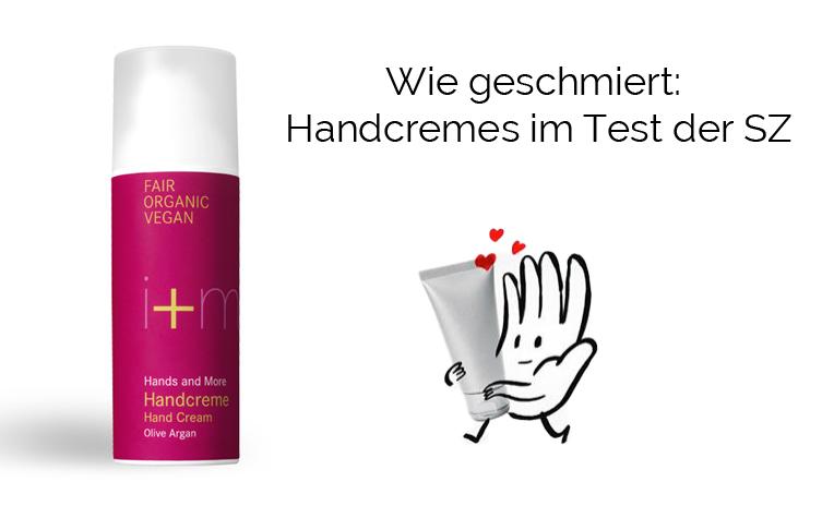 i+m Handcreme ist Test-Sieger!