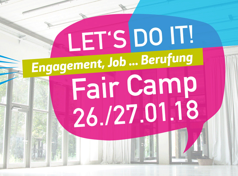 Let's do it! 26./27.01. FAIR CAMP