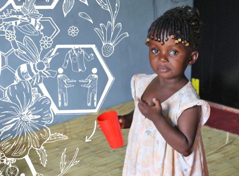 Kleiderspenden für Sambia